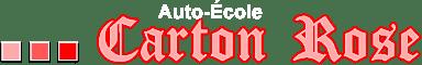 Auto-école Carton Rose